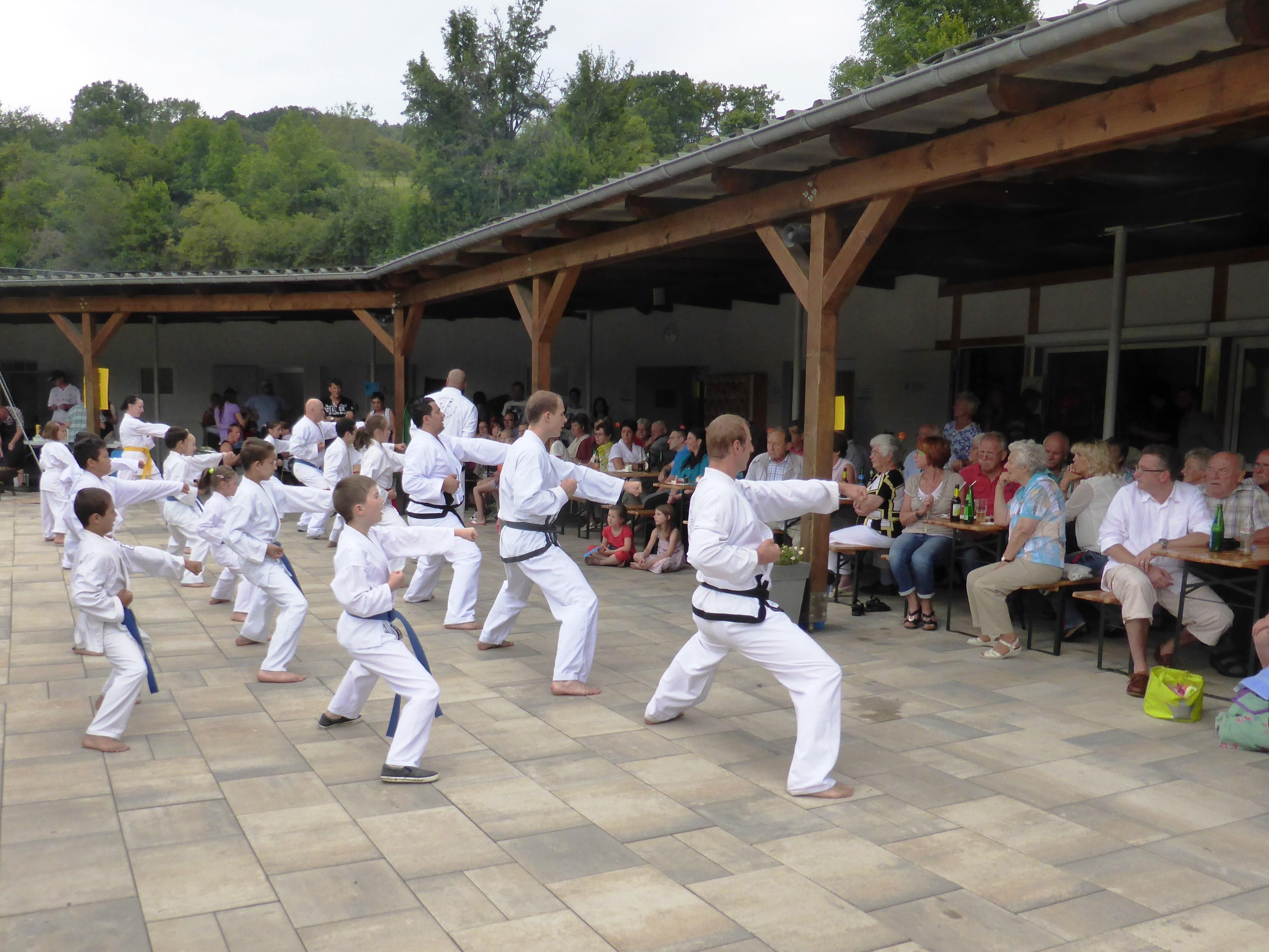 Waldschwimmbad Oberscheld - Taekwondo-Gruppe