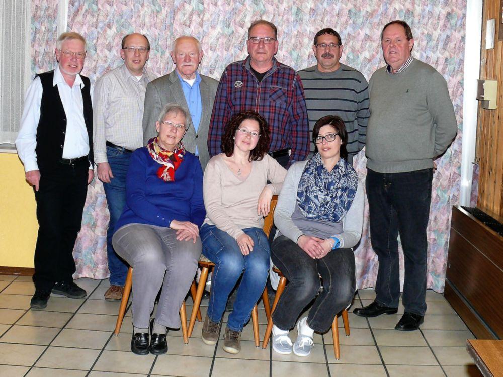 Förderverein Waldschwimmbad Oberscheld - Vorstand