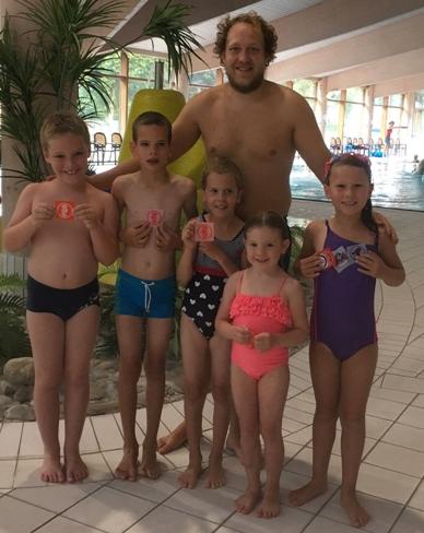 Erfolgreiche Schwimmkurse 2018