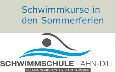 Schwimmkurse in den Sommerferien 2019