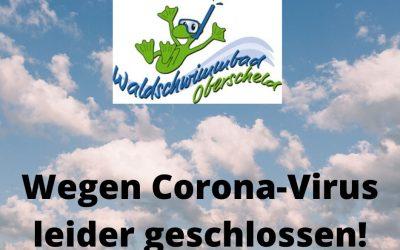 Wegen Corona derzeit geschlossen