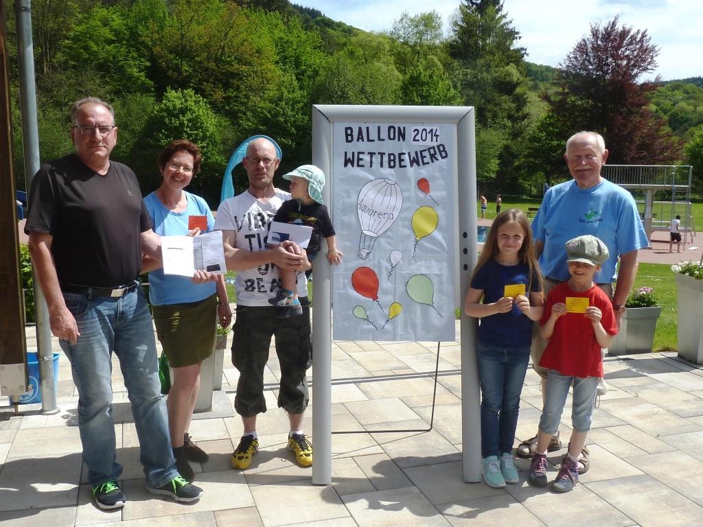 Ballonwettbewerb 2014 - Siegerehrung -k