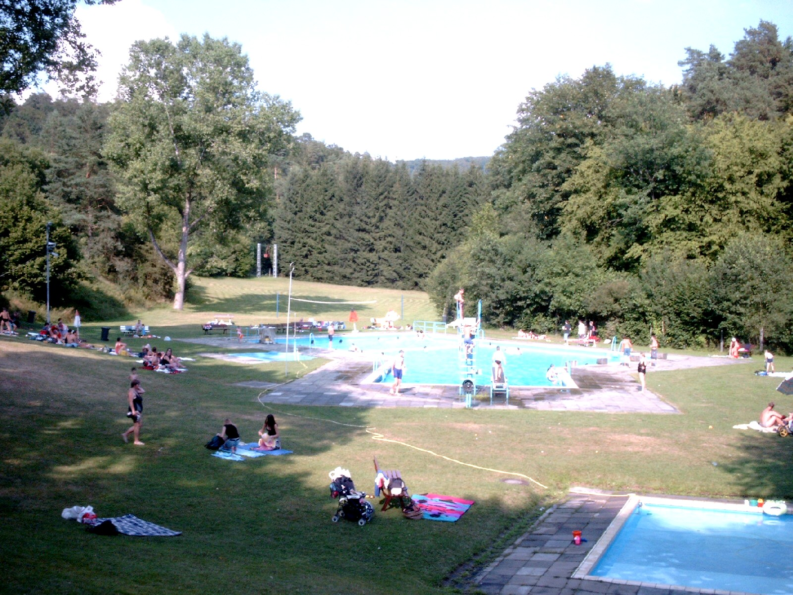 Waldschwimmbad Oberscheld - altes Bad
