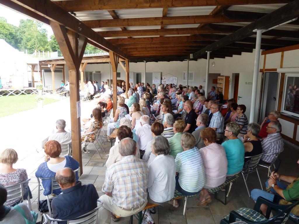 Teilnehmer Ökumenischer Gottesdienst beim Jubiläum Waldschwimmbad Oberscheld