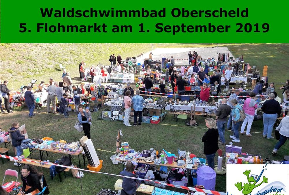 Flohmarkt am 1. September