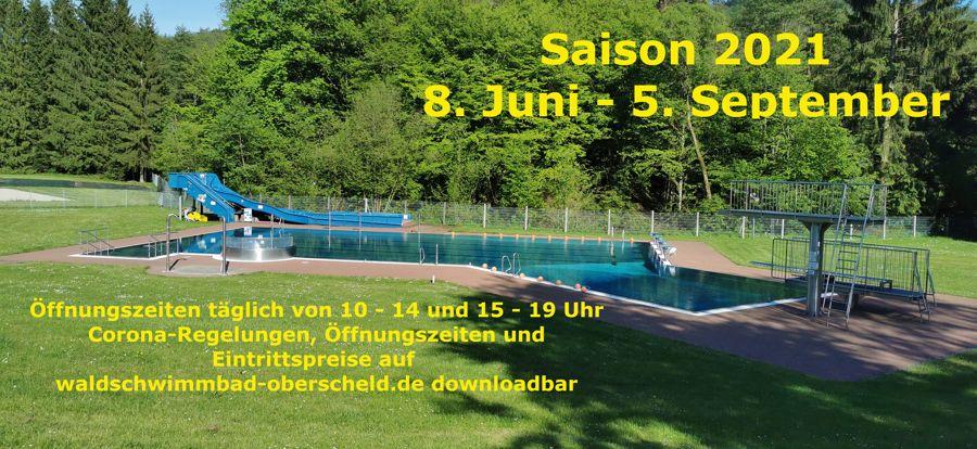 Saisoneröffnung Juni 2021