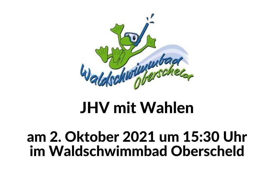 JHV mit Wahlen am 2. Oktober 2021